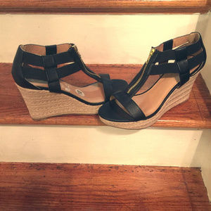 Women's Black Wedges by Report